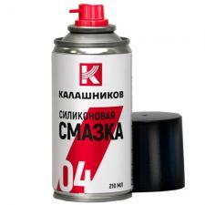 Силиконовая смазка  КАЛАШНИКОВ , 210 мл.