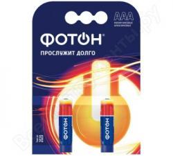 Элемент питания ФОТОН LR03 ОР2 , 2шт