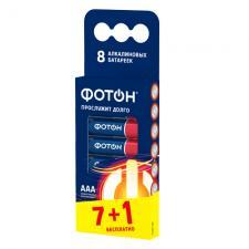 Элемент питания ФОТОН LR03 ВР8, 8 шт