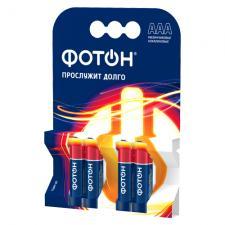 Элемент питания ФОТОН LR03 ОР4 , 4 шт.