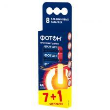 Элемент питания ФОТОН LR6 ВР8 , 8 шт.