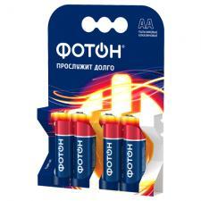 Элемент питания ФОТОН LR6 ОР4 , 4 шт.