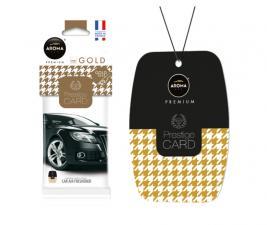 Ароматизатор воздуха Aroma Car PRESTIGE CARD Gold