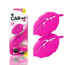 Ароматизатор воздуха Aroma Car Leaf 3D mini Bubble Gum