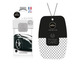 Ароматизатор воздуха Aroma Car PRESTIGE CARD Silver