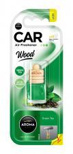 """Ароматизатор воздуха """"Aroma Car Wood"""",  Зеленый Чай"""