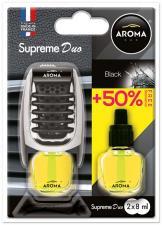 """Ароматизатор воздуха """"Aroma Car"""" Supreme Duo Black"""