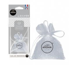 "Ароматизатор воздуха ""Aroma Car"", PRESTIGE BAG, Silver"