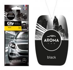 Ароматизатор воздуха AROMA CAR CITY CARD BLACK