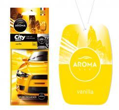 Ароматизатор воздуха AROMA CAR CITY CARD VANILLA