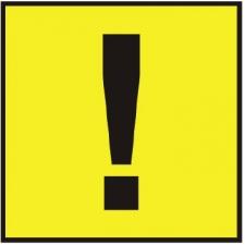Знаки самоклеющиеся AutoStandart 108801