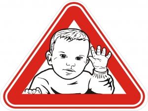Знаки самоклеющиеся AutoStandart 108806